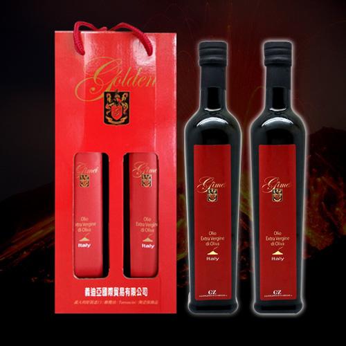 液體黃金橄欖油 義大利特級初榨火山橄欖油 2瓶