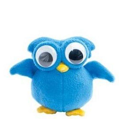 辦公室療癒小物 Gugulu絨布偶 寶藍