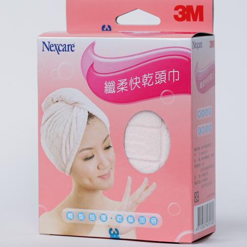 【3M】SPA纖柔快乾頭巾