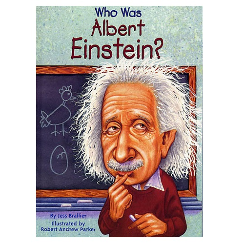 Who Was Albert Einstein?愛因斯坦