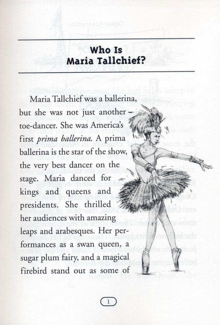 Who Is Maria Tallchief? 芭蕾名伶瑪麗亞‧托契夫