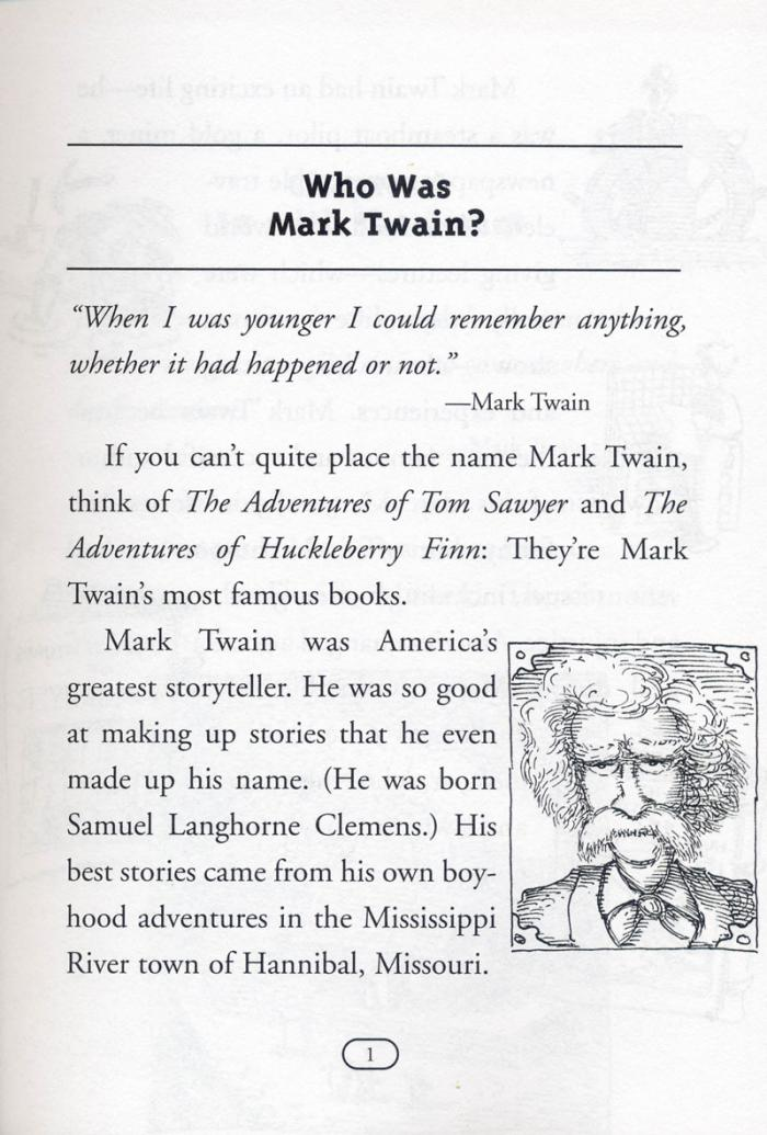 Who Was Mark Twain?馬克‧吐溫