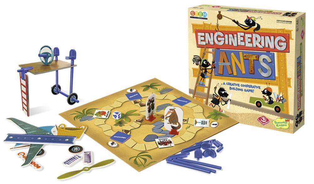 桌遊 螞蟻工程師