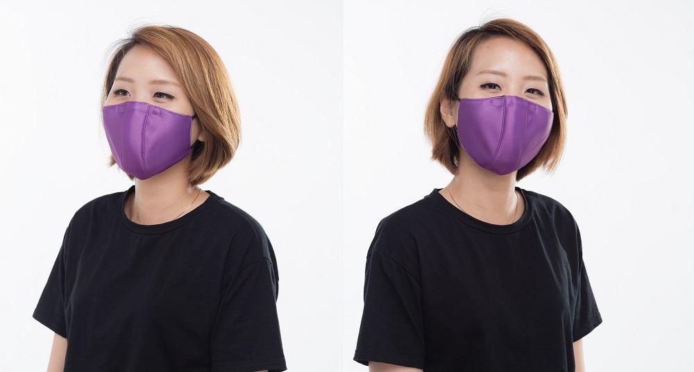 ATB 3.5抗菌口罩(電光紫)