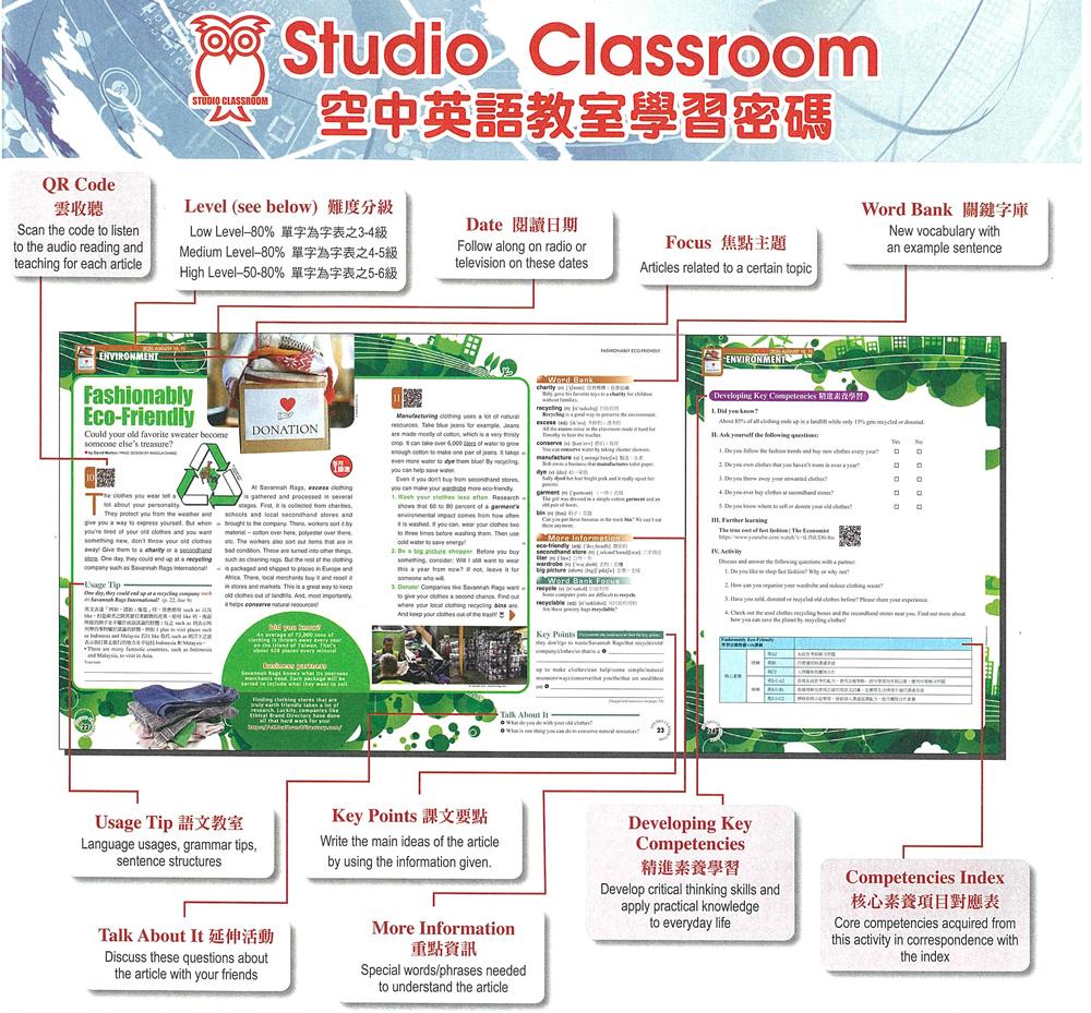 2020年8月號空中英語教室 單書版