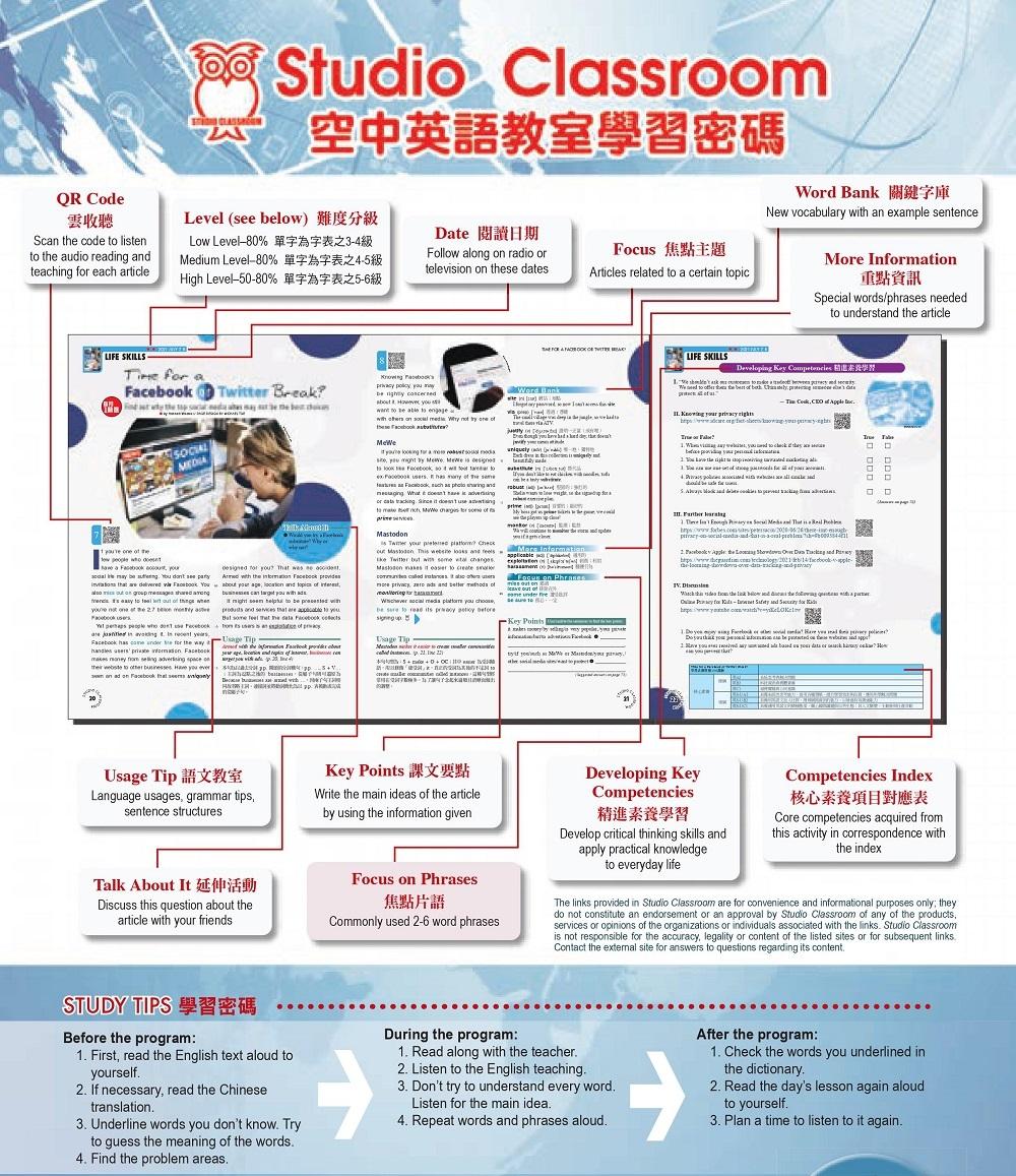 空中英語教室 雜誌 訂18期
