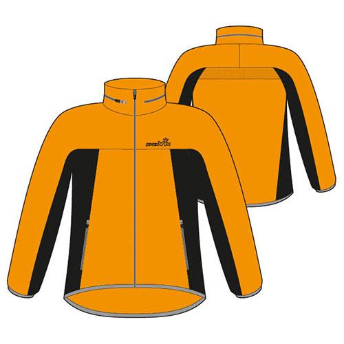SevenWin抗UV潑水風衣外套 橘黃色