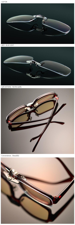 抗藍光尼斯眼鏡前掛夾片式(大)