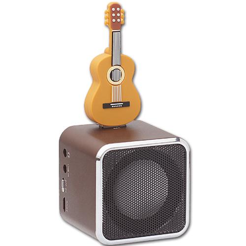 AdQube播放機+吉他造型隨身碟