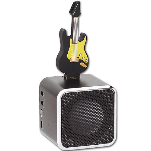 AdQube播放機+電吉他造型隨身碟