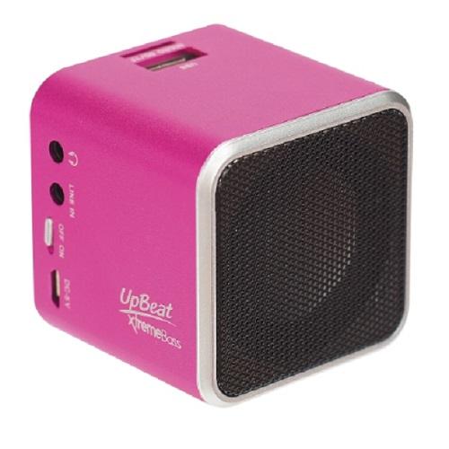 UpBeat藍芽播放器-粉紅