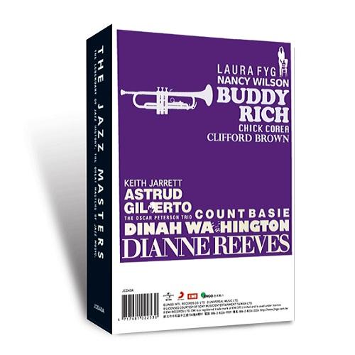 金革唱片-爵色年代(6CD精緻盒裝版)
