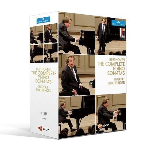 金革唱片-布赫賓德/貝多芬:鋼琴奏鳴曲全集(6DVD)